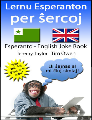 Learn Esperanto with jokes cover