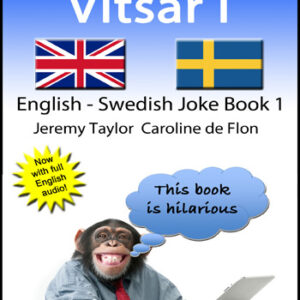 English Swedish Joke Book 1 cover