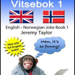 English Norwegian Joke Book cover
