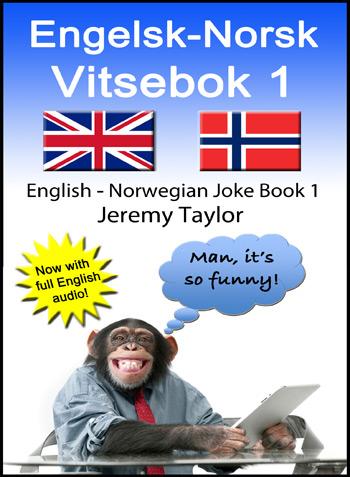 Engelsk-Norsk Vitsebok 1 - cover
