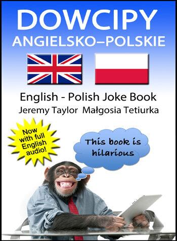 English Polish joke book cover