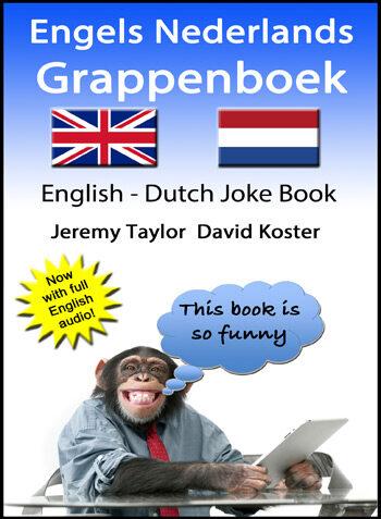 English Dutch Joke Book cover