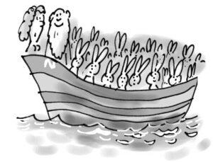 Noah cartoon