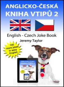 English Czech Joke Book cover