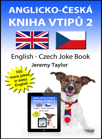 English Czech Joke Book cover