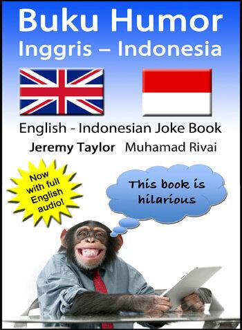English Indonesian Joke Book cover