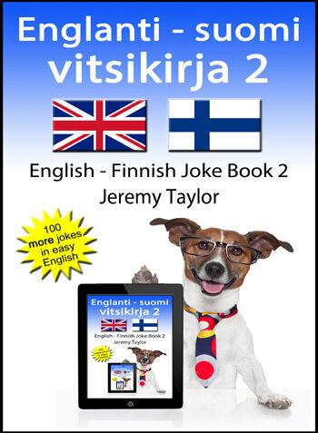 English Finnish Joke Book 2 cover