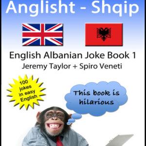 English Albanian Joke Book cover