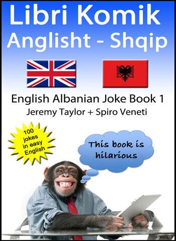 English Albanian Joke Book 1 cover