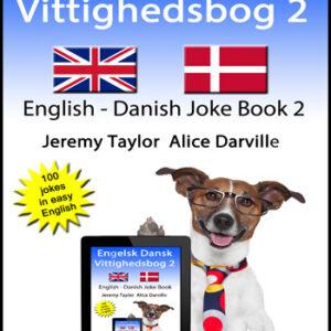 English Danish Joke book 2 cover