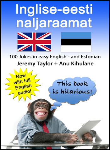 English Estonian Joke Book cover