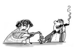 Winston Churchill Cartoon