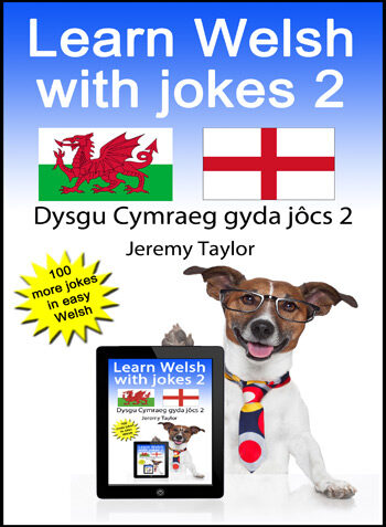 Learn Welsh with Jokes 2 cover