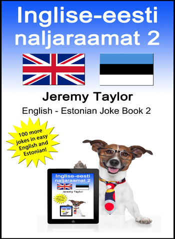 English Estonian Joke Book 2 cover