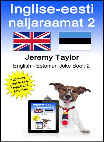 English Estonian Joke Book 2 cover