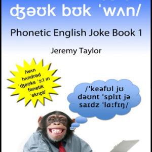 English phonetic joke book 1 cover
