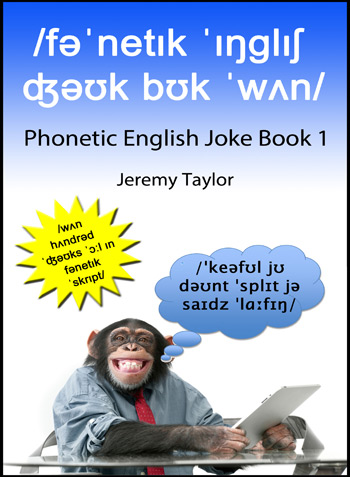 English Phonetic Joke Book cover