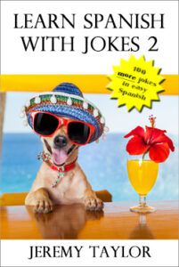 Learn Spanish with Jokes 2 cover